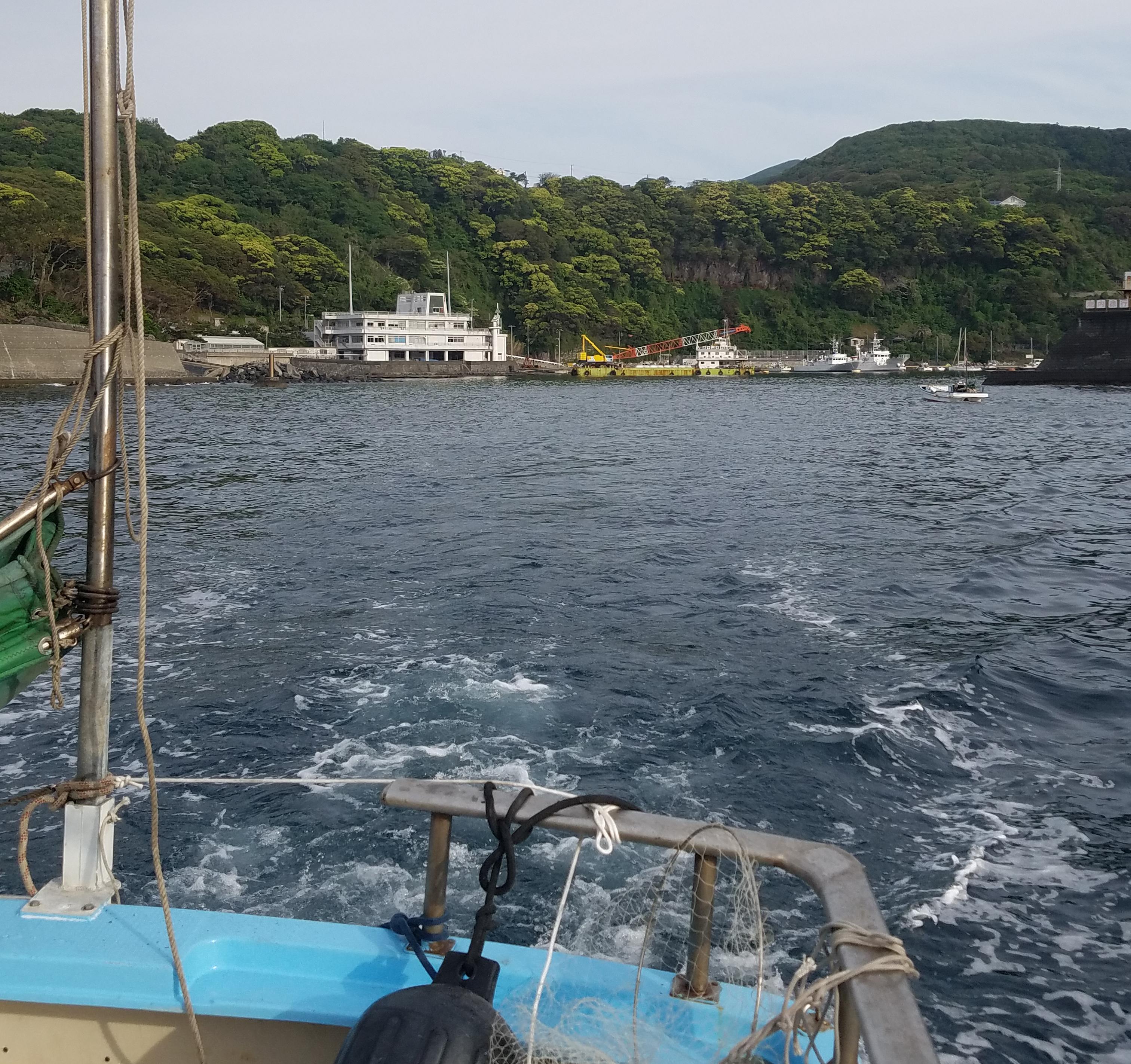 伊豆大島へ釣行