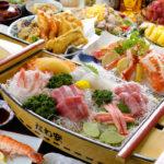 屋形船 なわ安 宴会料理一例