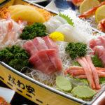 屋形船 なわ安 宴会料理 刺身の舟盛り