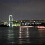 屋形船 なわ安 レインボーブリッジの夜景