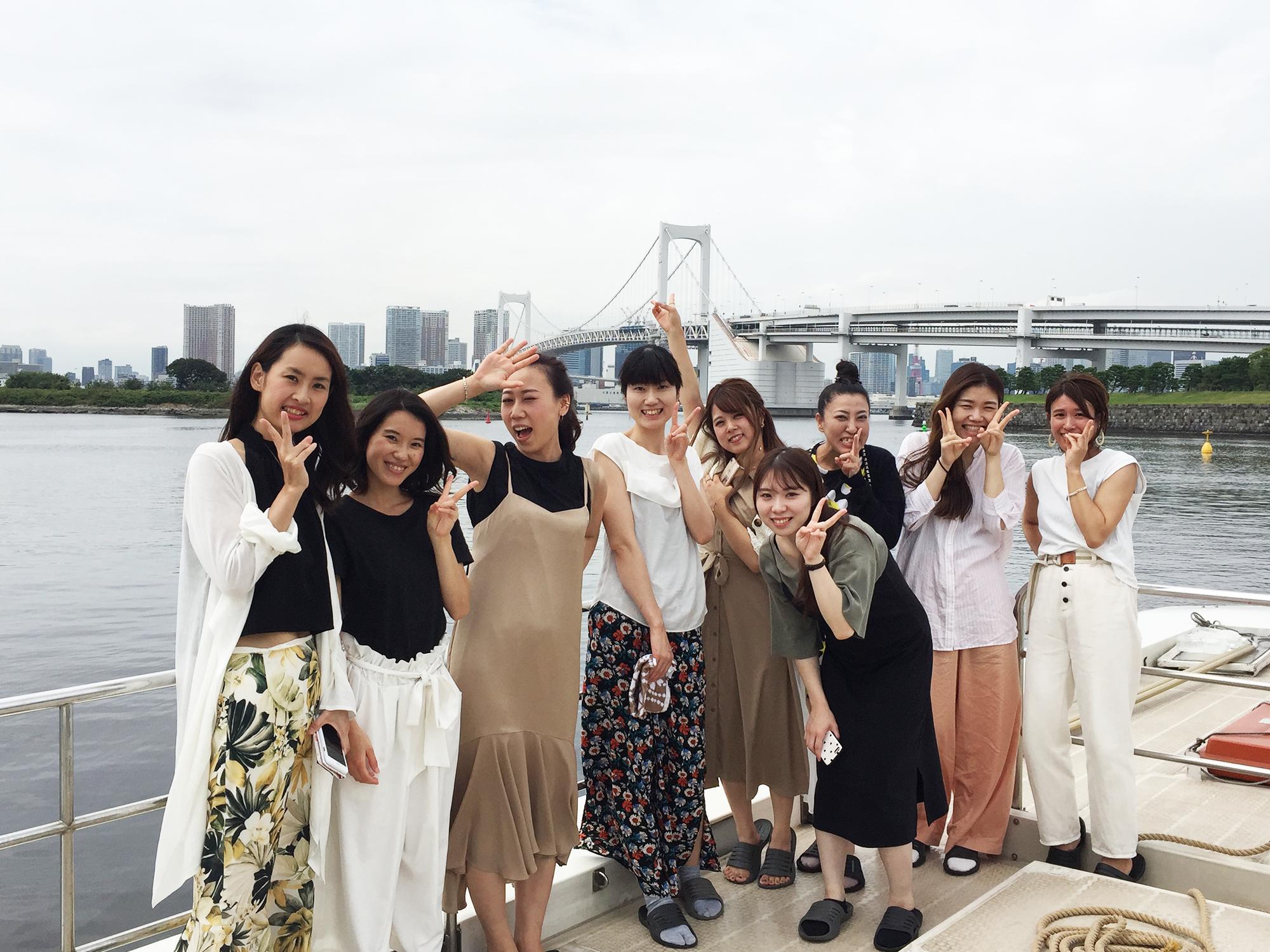 お仕事の合間のご褒美☆貸切屋形船![2019年8月]