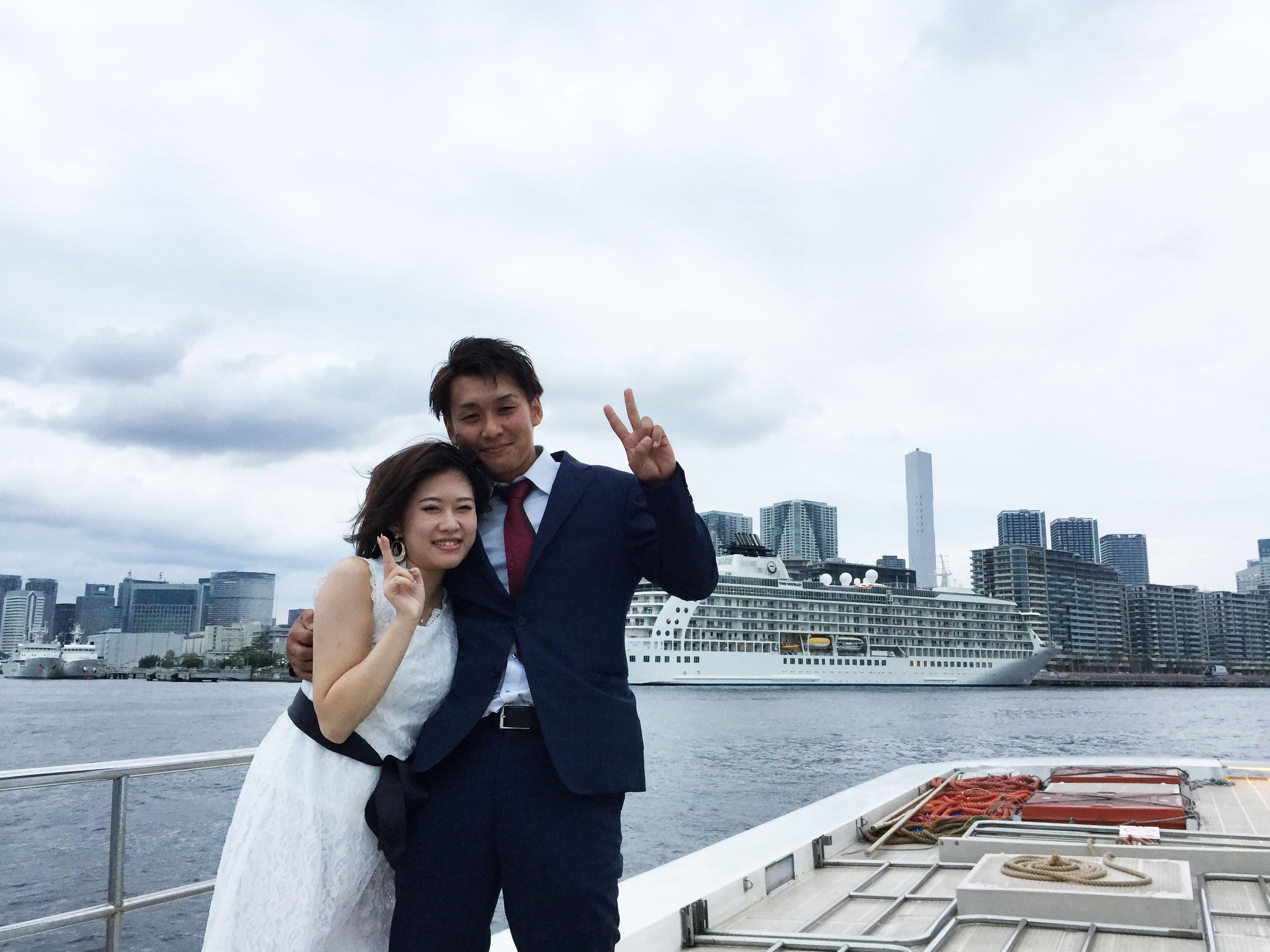 屋形船でご結婚披露パーティー☆貸切屋形船![2019年10月]
