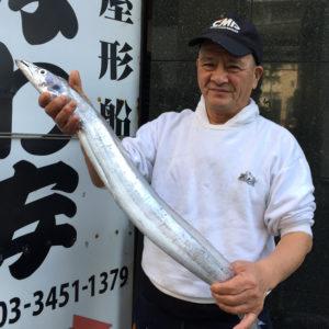 本日の東京港で釣れたお魚