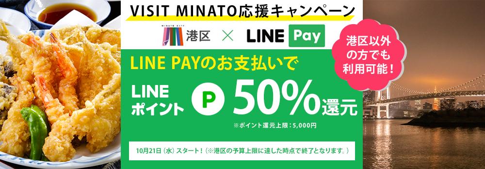 VISIT MINATO応援キャンペーンバナー