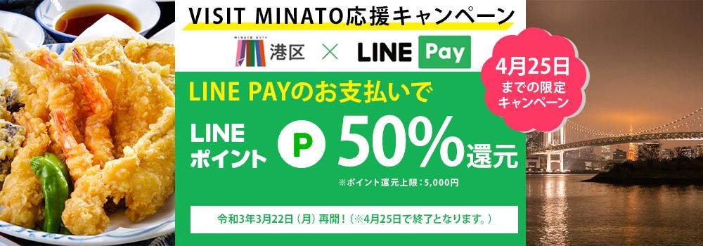 LINE Pay還元キャンペーンバナー