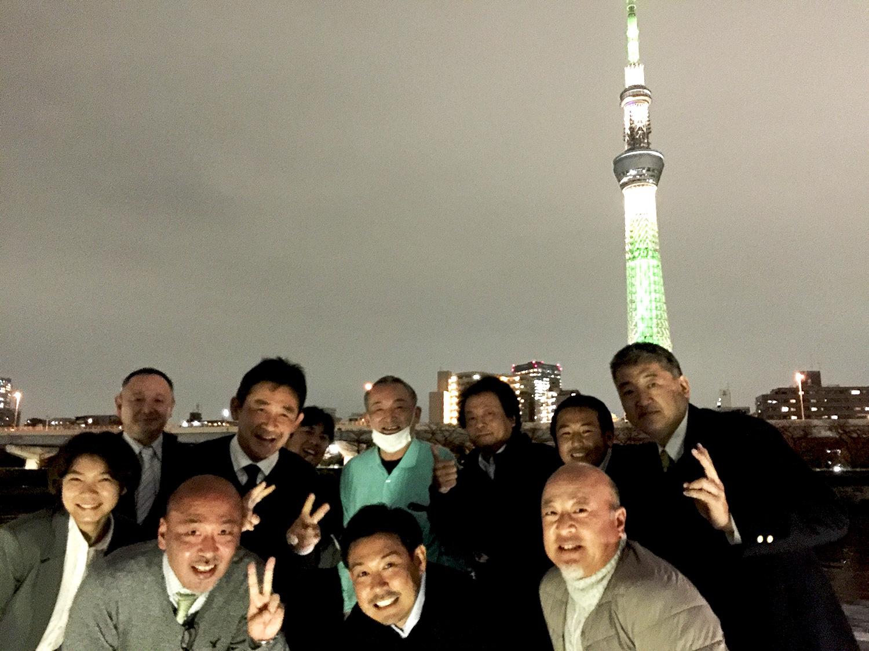 都内のお客様と隅田川屋形船[2020年11月]