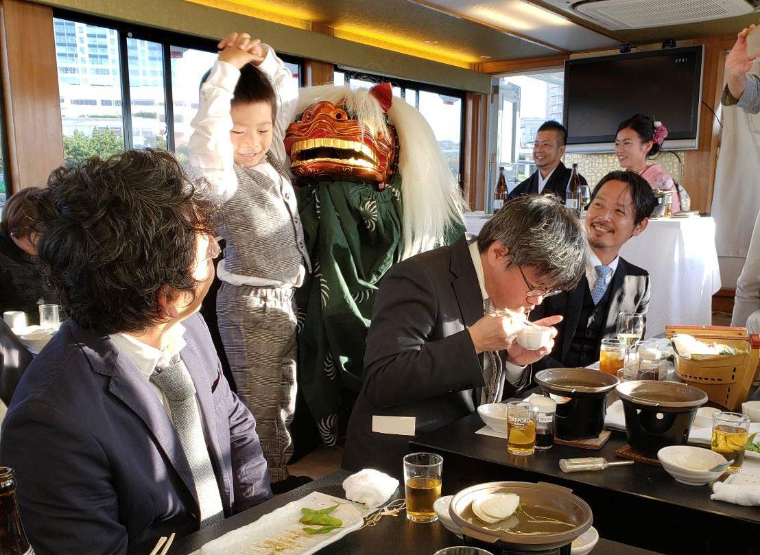 屋形船でご結婚披露パーティー☆貸切屋形船![2019年11月]